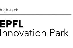 Logo EPFL Innovation Park, Global Entrepreneurship Week Switzerland