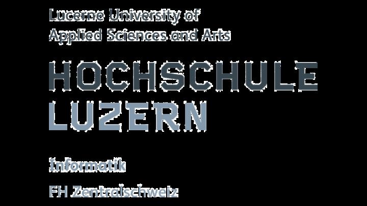 Logo Hochschule Lucern, Global Entrepreneurship Week Switzerland