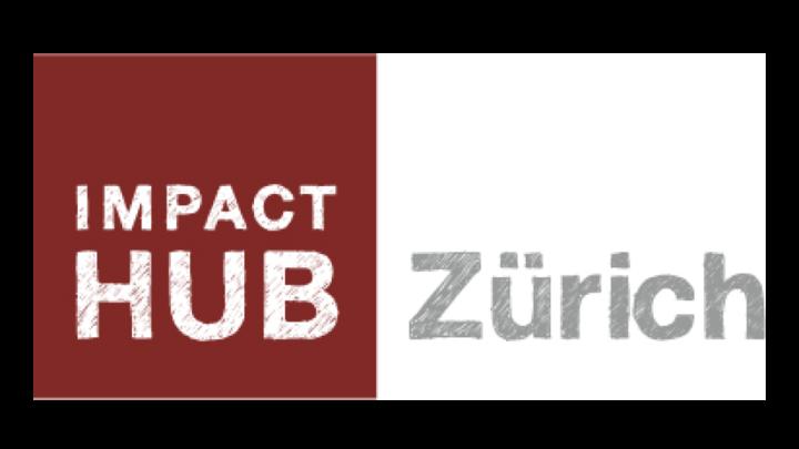 Logo impact hub Zurich, Global Entrepreneurship Week Switzerland