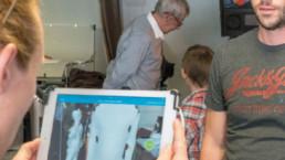 Photo People Scan 3D Innovation, Global Entrepreneurship Week Switzerland